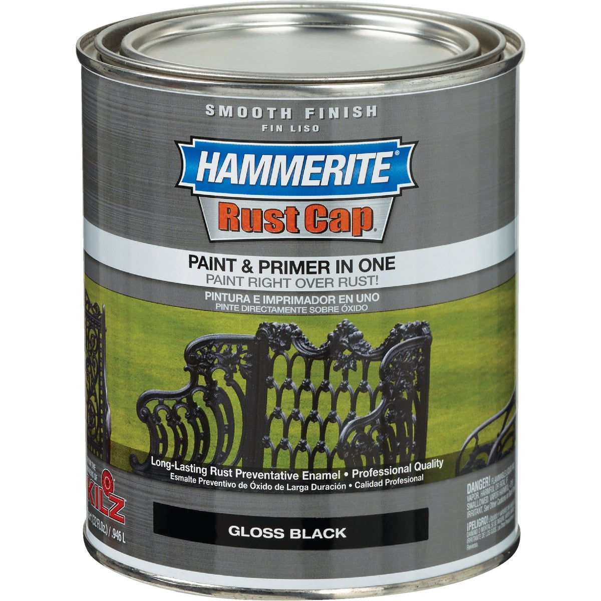 GLOSS BLACK SMOOTH PAINT - 44240 by Masterchem
