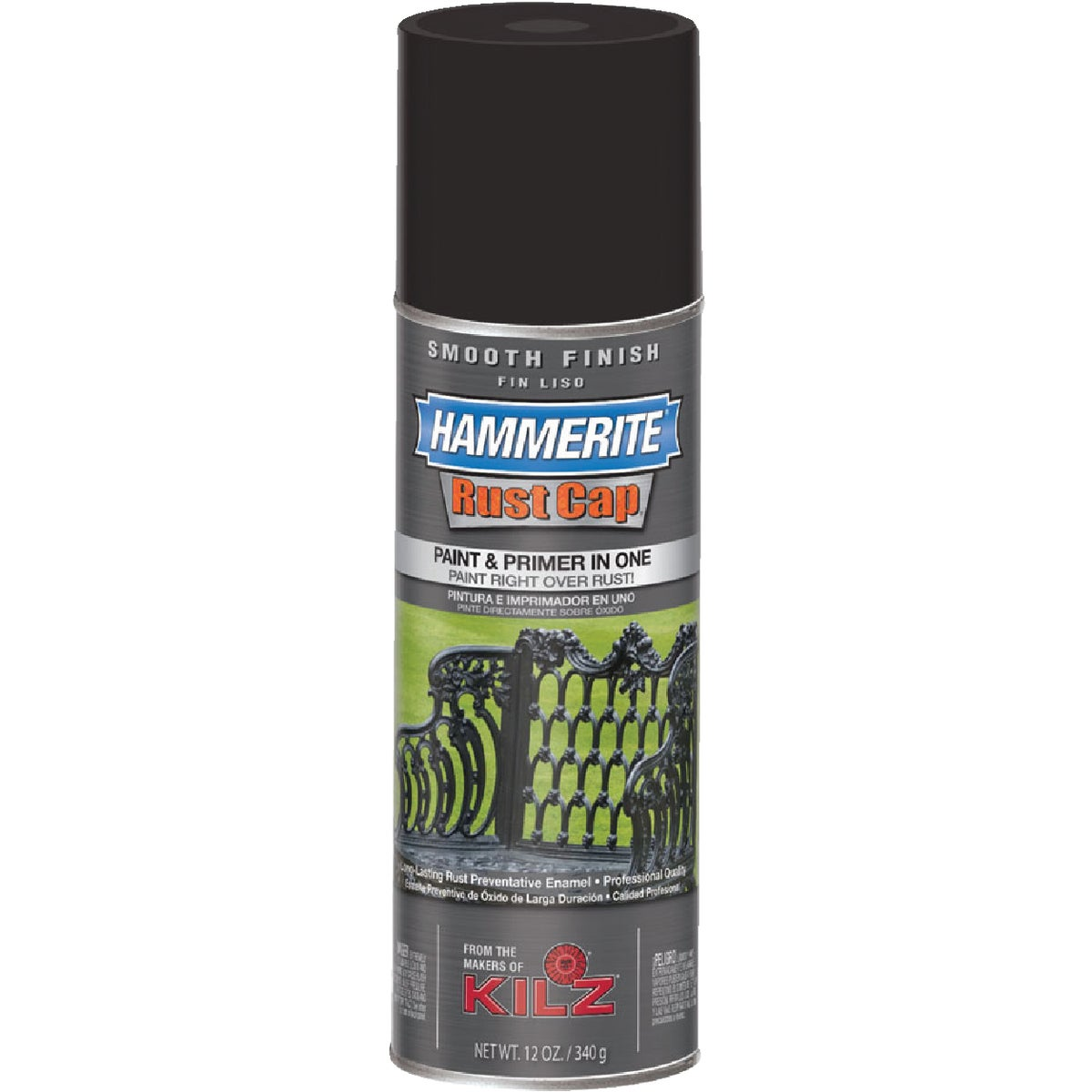 FLT BLK SMTH SPRAY PAINT - 42235 by Masterchem