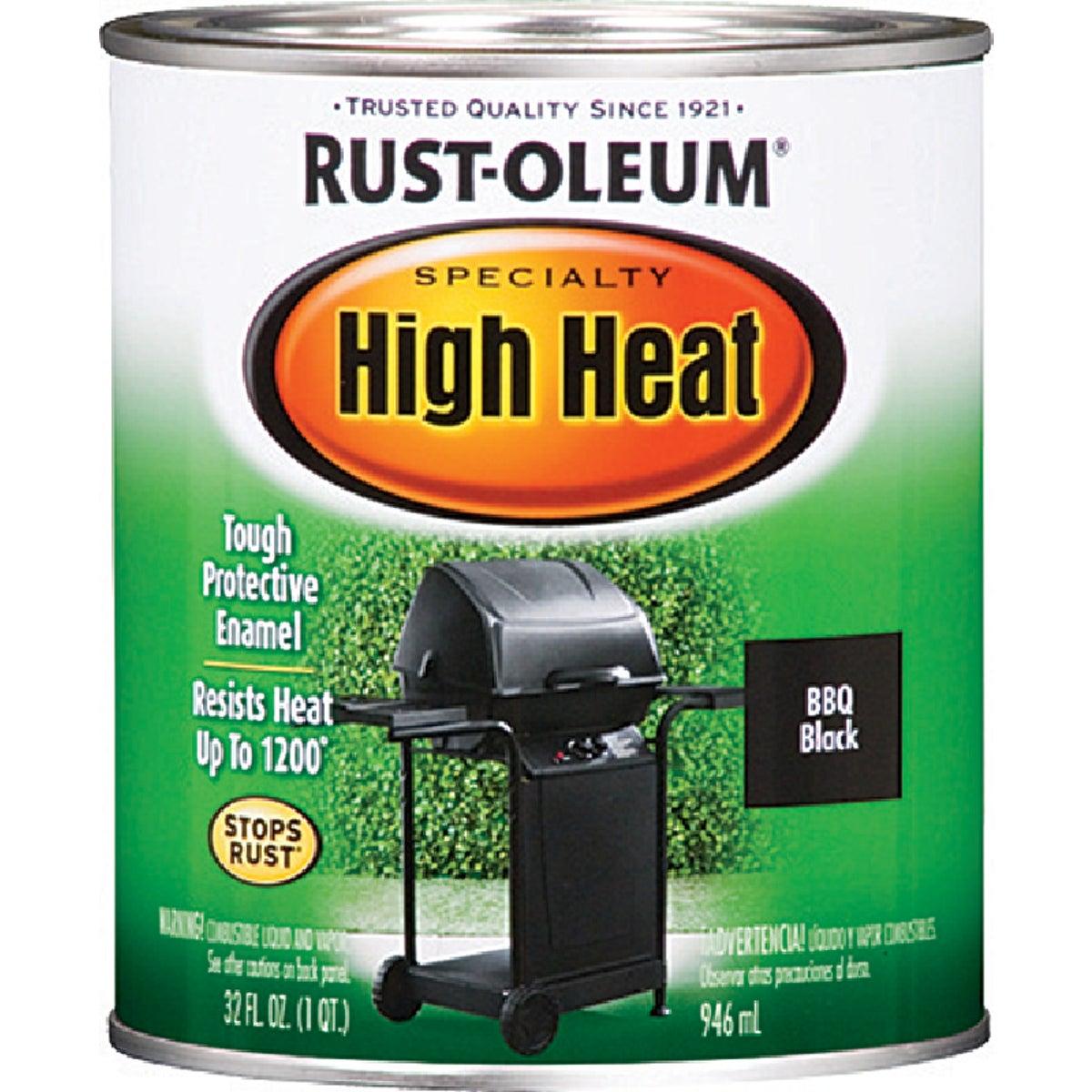 BBQ BLK HIGH-HEAT ENAMEL - 7778-502 by Rustoleum