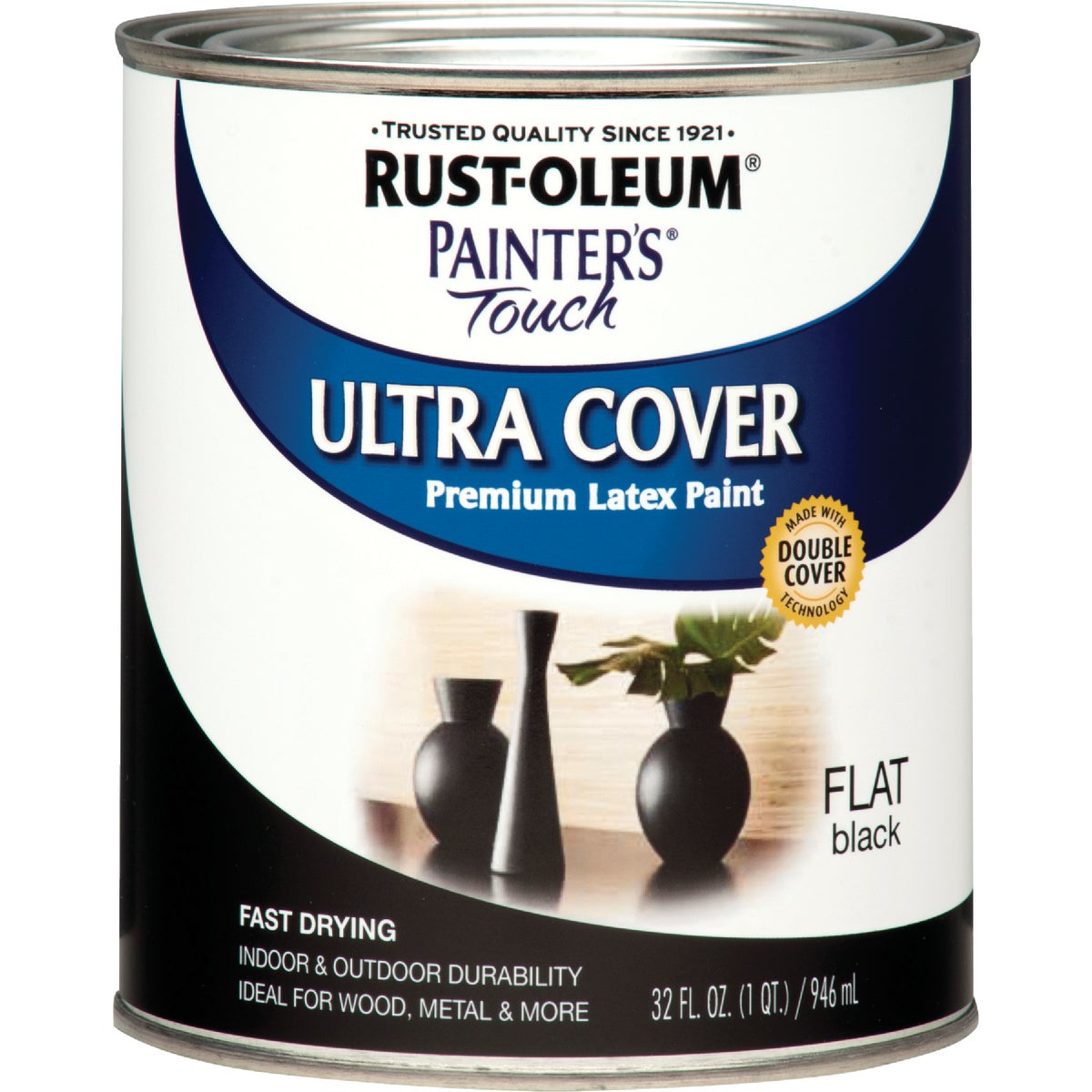 FLAT BLACK LATEX PAINT - 1976-502 by Rustoleum
