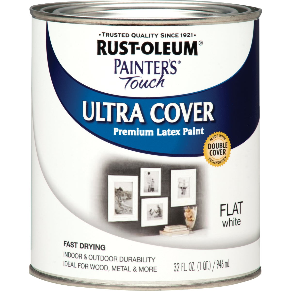 FLAT WHITE LATEX PAINT - 1990-502 by Rustoleum