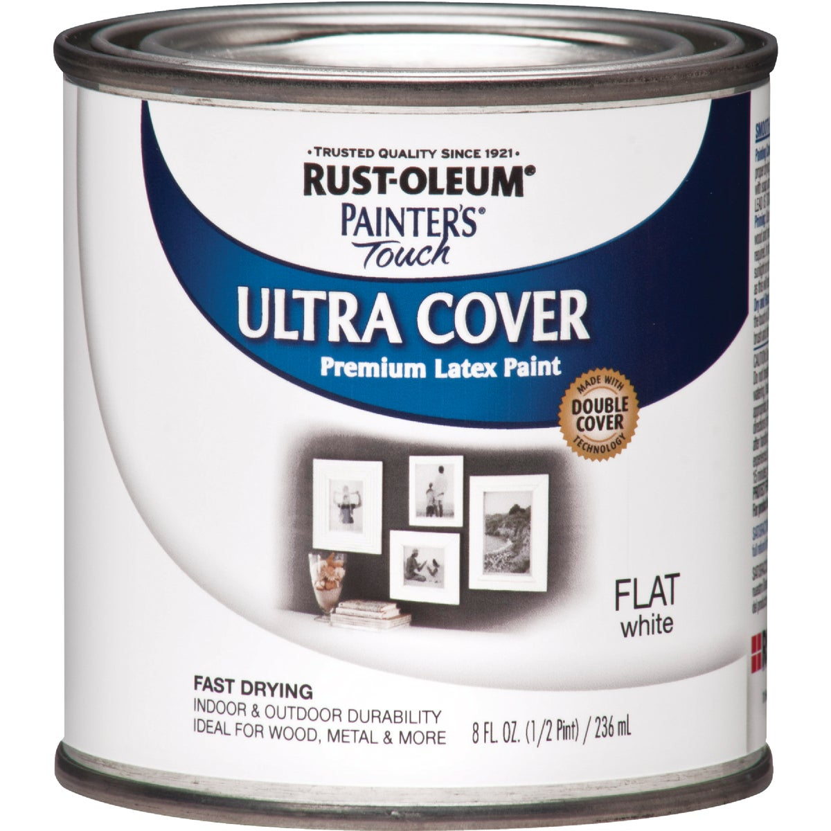 FLAT WHITE LATEX PAINT - 1990-730 by Rustoleum