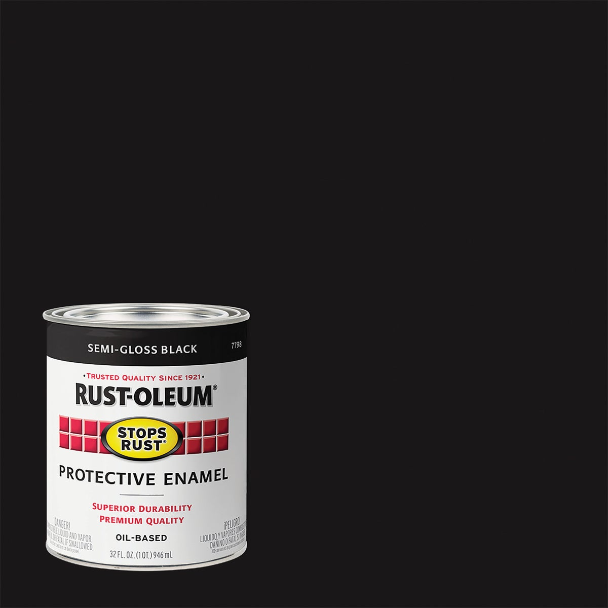 S/G BLACK ENAMEL - 7798-502 by Rustoleum