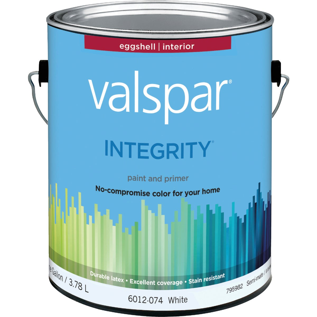 INT EGG WHITE PAINT - 004.6012074.007 by Valspar Corp