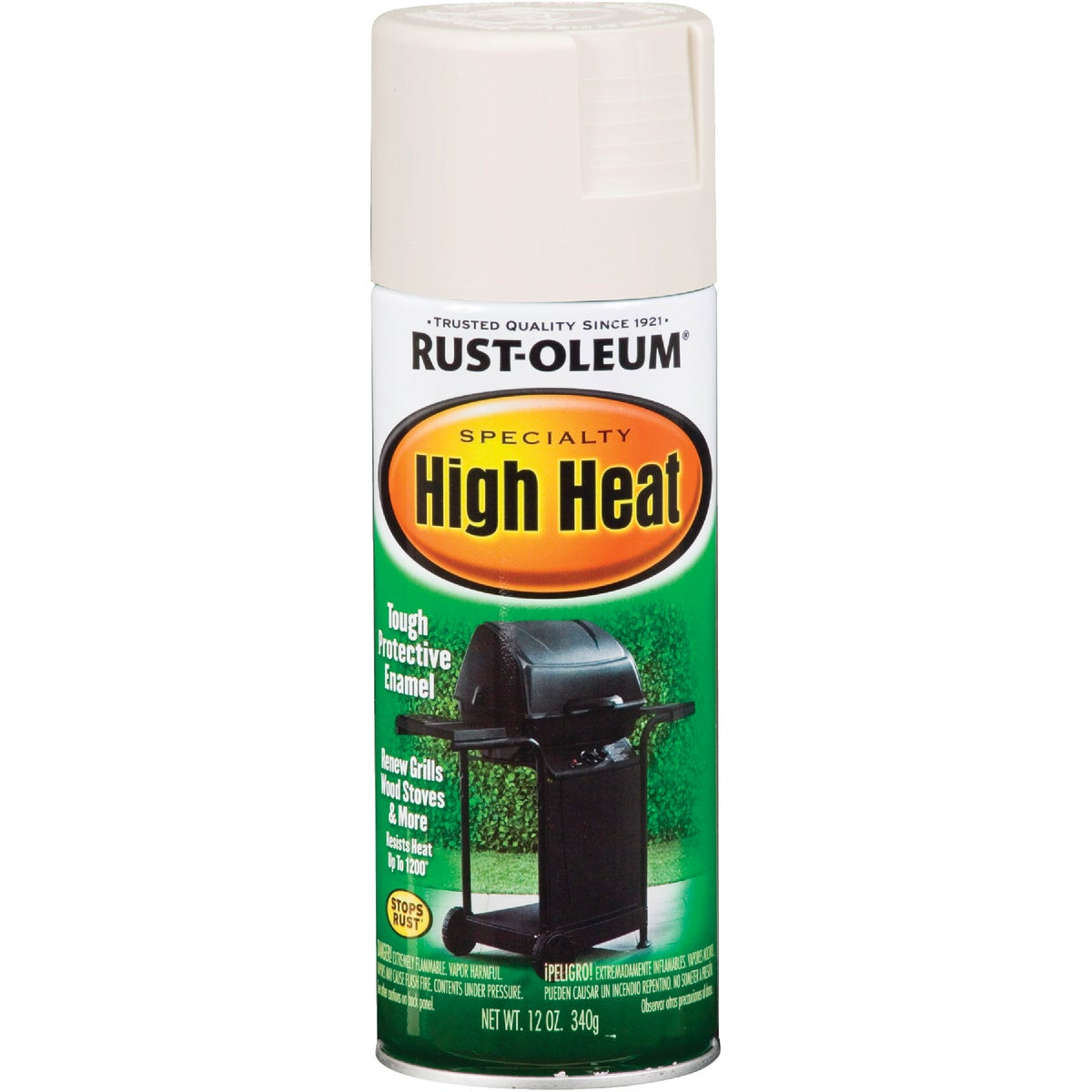 WHT HI-HEAT SPRAY PAINT
