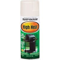 Rust Oleum WHT HI-HEAT SPRAY PAINT 7751-830