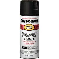 Rust Oleum S/G BLACK SPRAY PAINT 7798-830