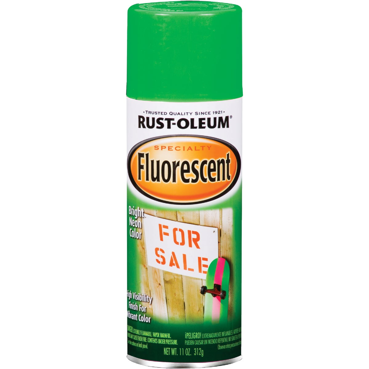 FLRSCNT GRN SPRAY PAINT - 1932-830 by Rustoleum