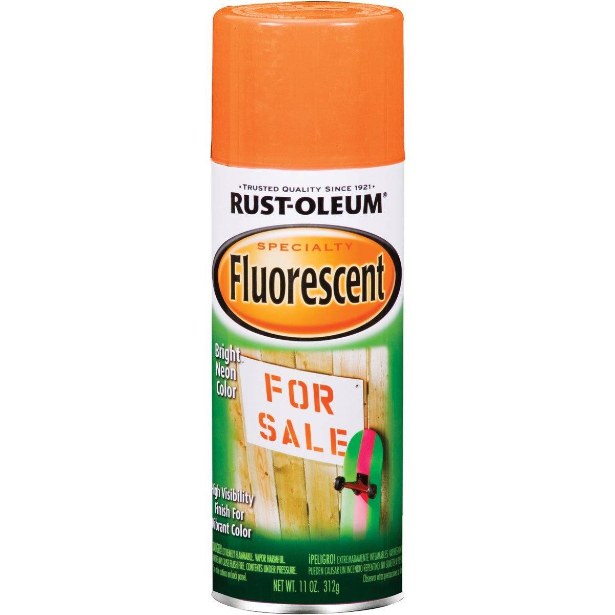 FLRSCNT ORNG SPRAY PAINT - 1954-830 by Rustoleum