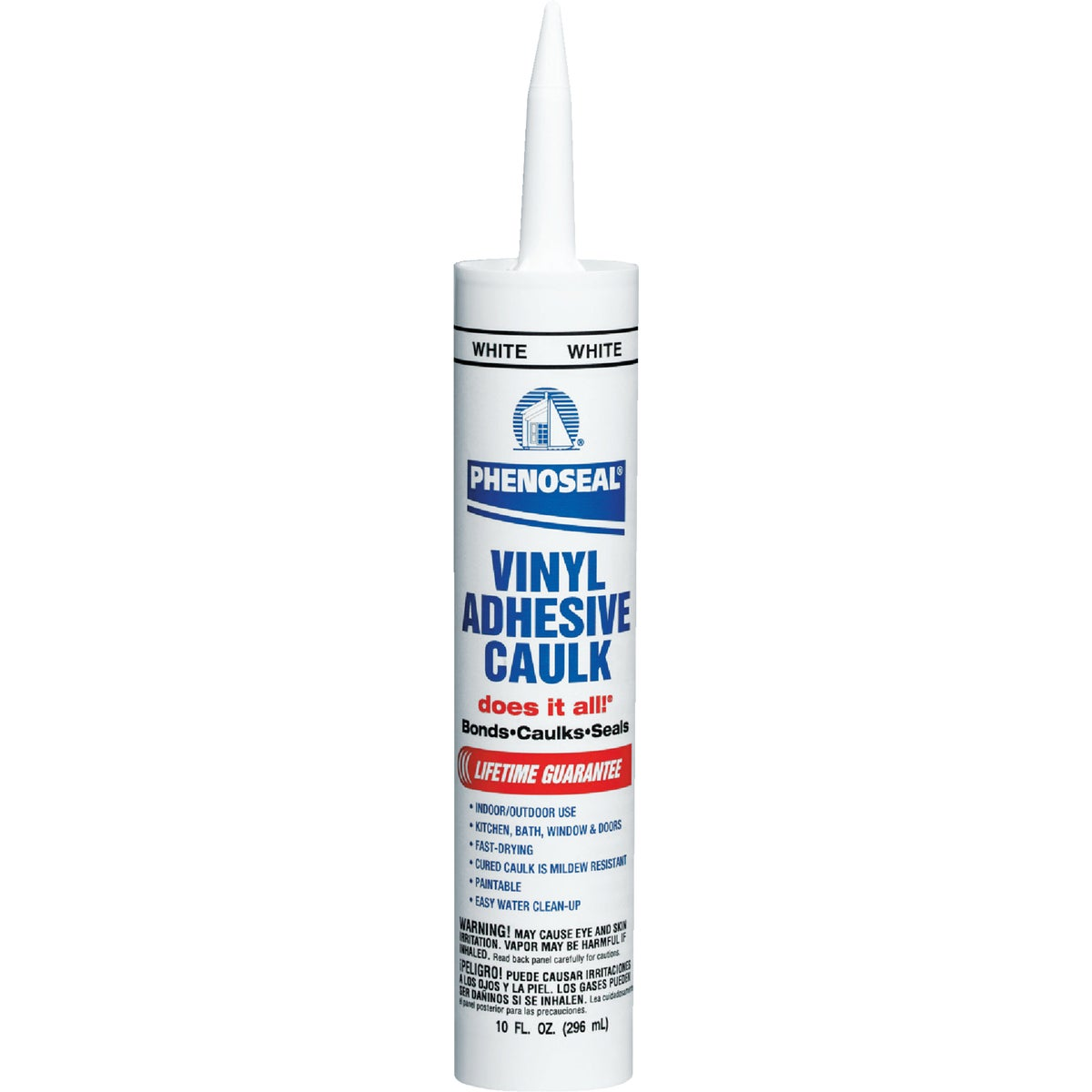 WHITE ADHESIVE CAULK - 00005 by Dap Inc