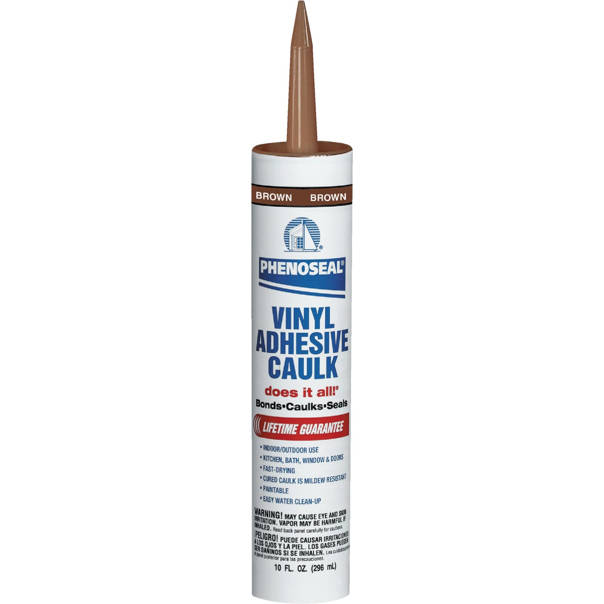 BROWN ADHESIVE CAULK - 09102 by Dap Inc