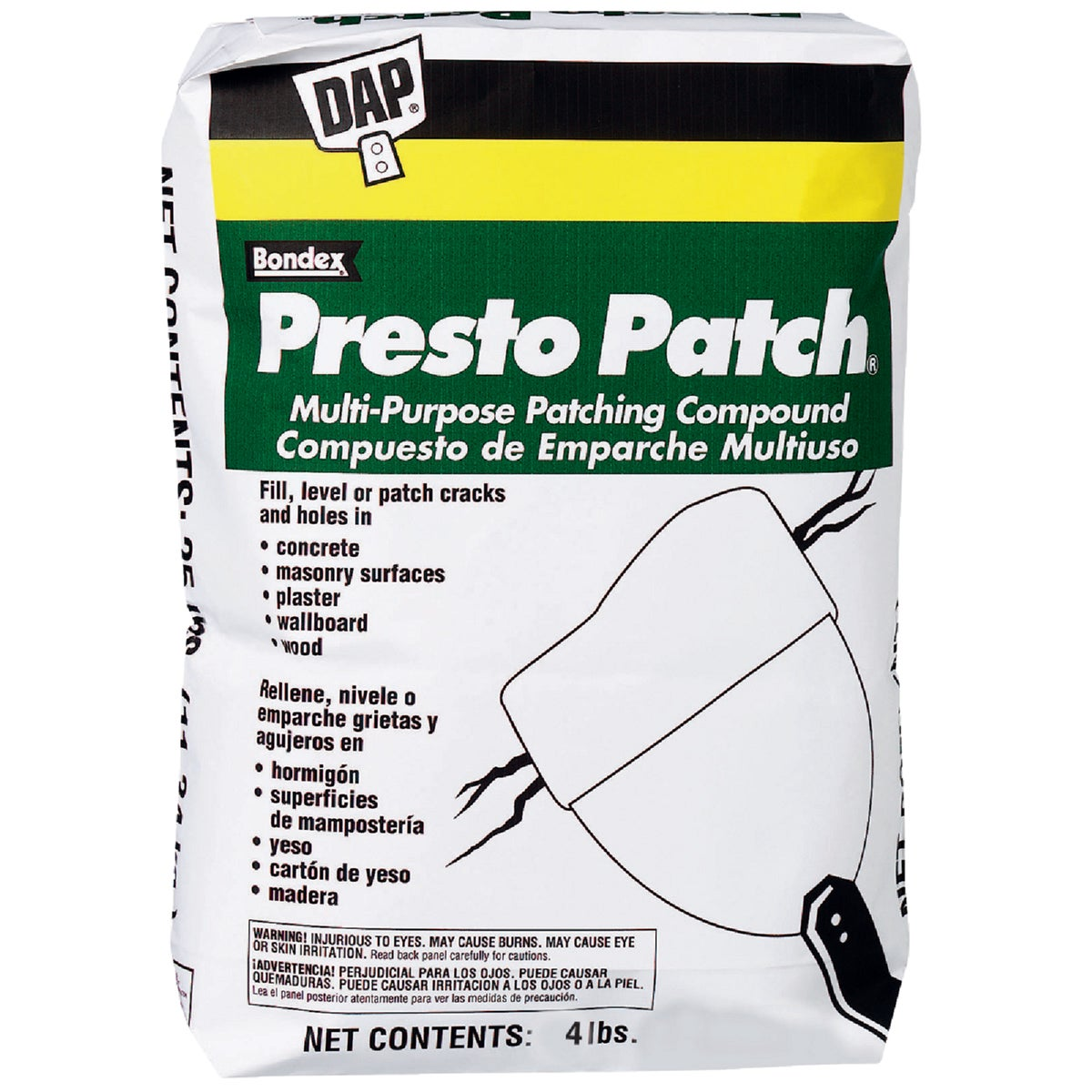 4LB PRSTO PATCH COMPOUND