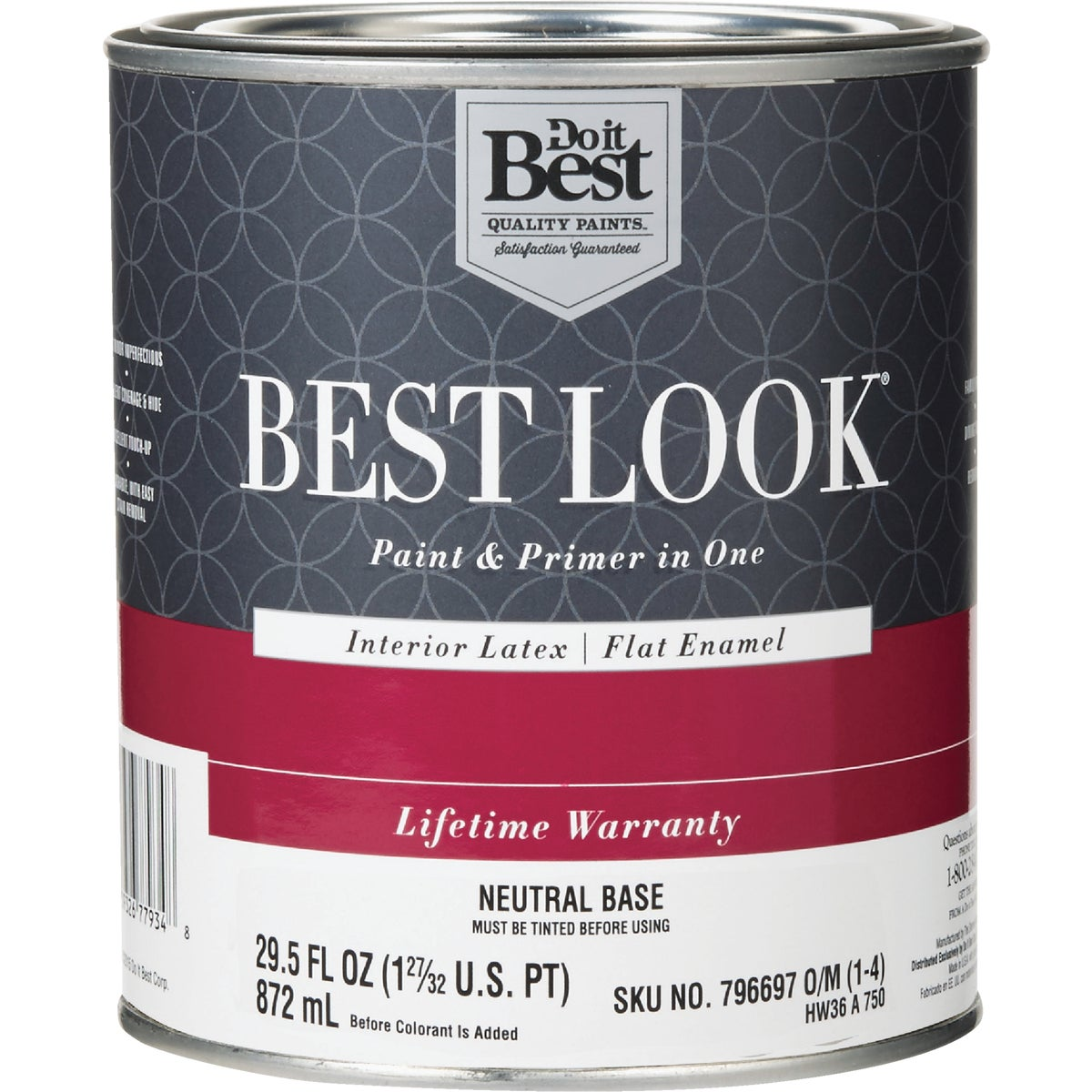 INT FLAT NEUTRL BS PAINT - HW36A0750-14 by Do it Best