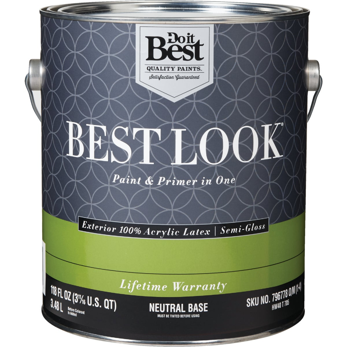 EXT S/G NEUTRAL BS PAINT - HW40T0705-16 by Do it Best