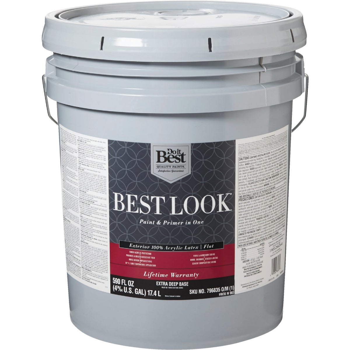 EXT FLT EX DEEP BS PAINT - HW35W0803-20 by Do it Best
