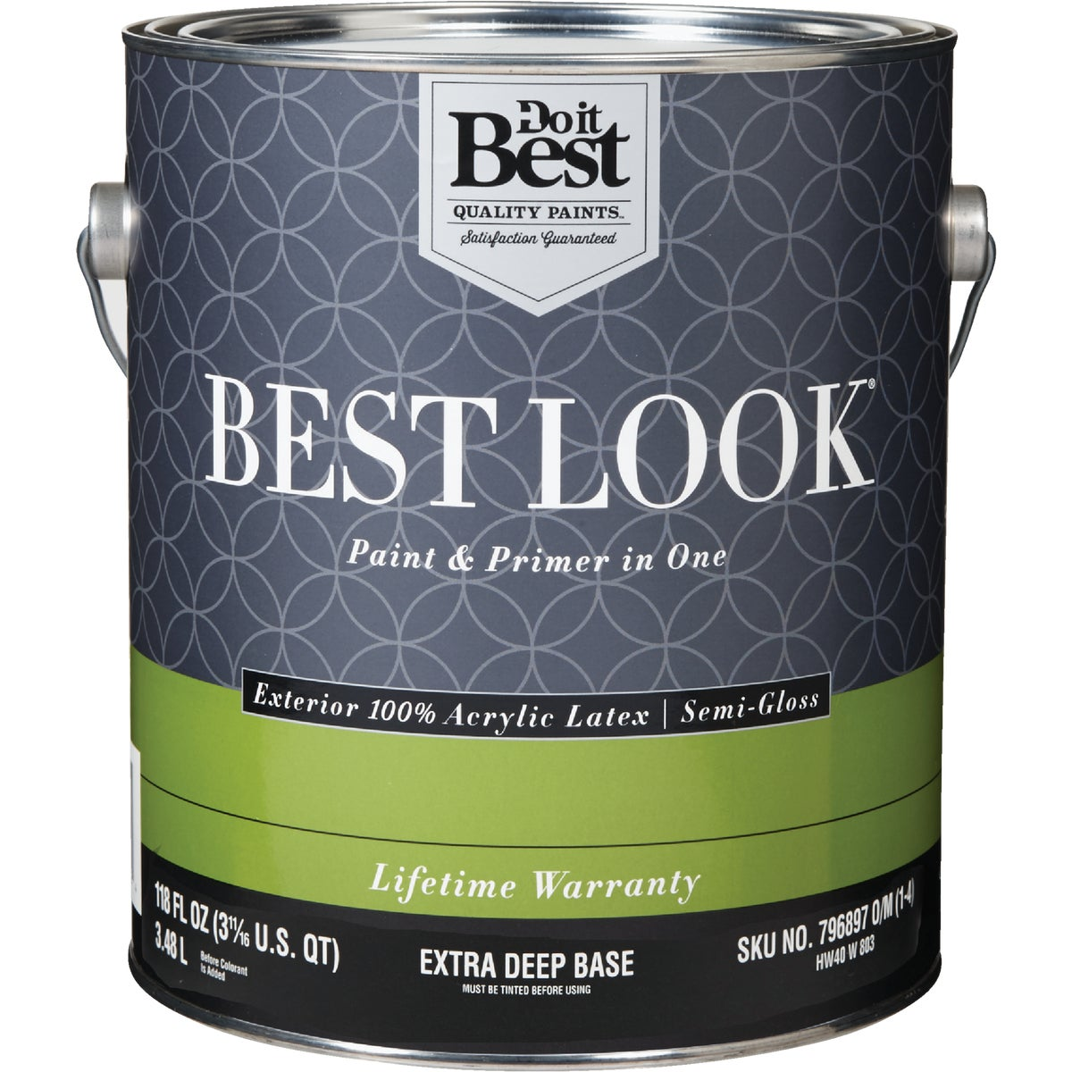 EXT S/G EX DEEP BS PAINT - HW40W0803-16 by Do it Best