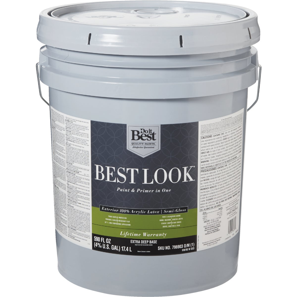 EXT S/G EX DEEP BS PAINT - HW40W0803-20 by Do it Best
