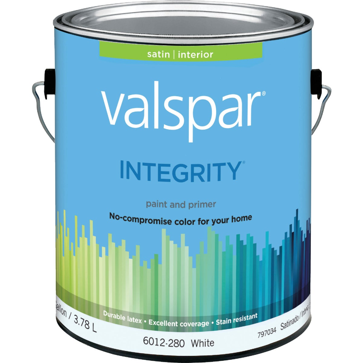 INT SAT WHITE PAINT - 004.6012280.007 by Valspar Corp