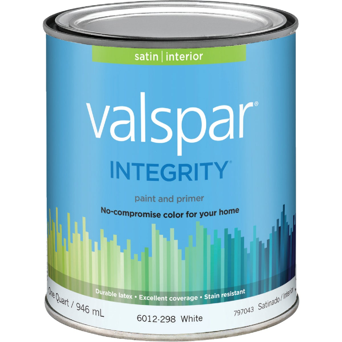 INT SAT WHITE PAINT - 004.6012298.005 by Valspar Corp