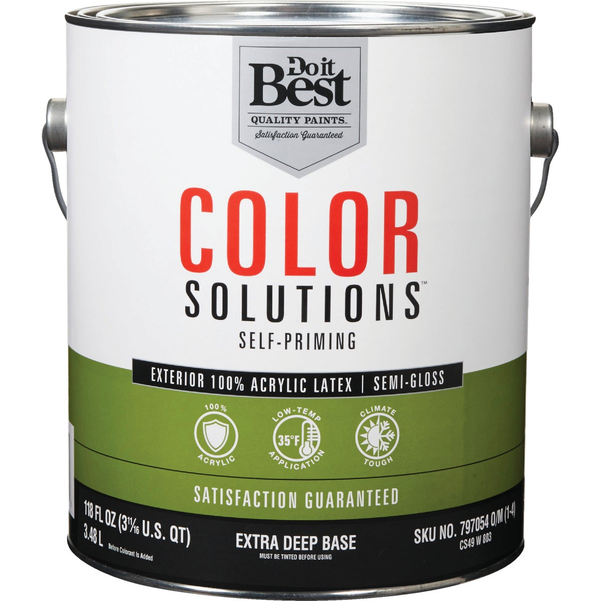 EXT S/G EX DEEP BS PAINT - CS49W0803-16 by Do it Best