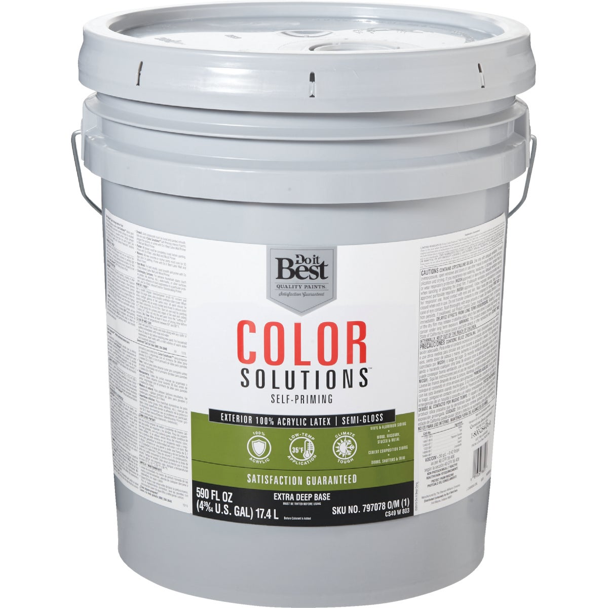 EXT S/G EX DEEP BS PAINT - CS49W0803-20 by Do it Best