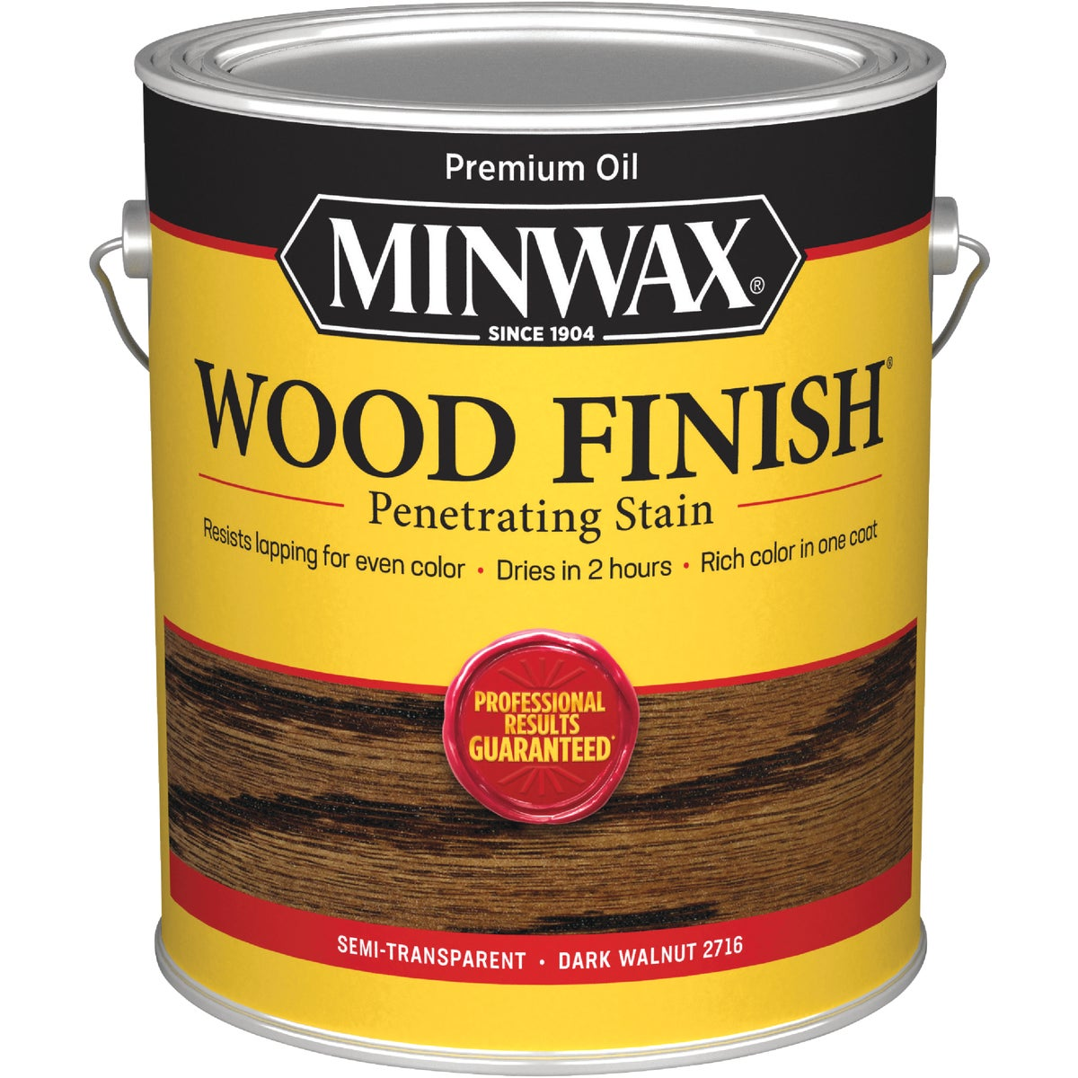DARK WALNUT WOOD STAIN - 71012 by Minwax Company