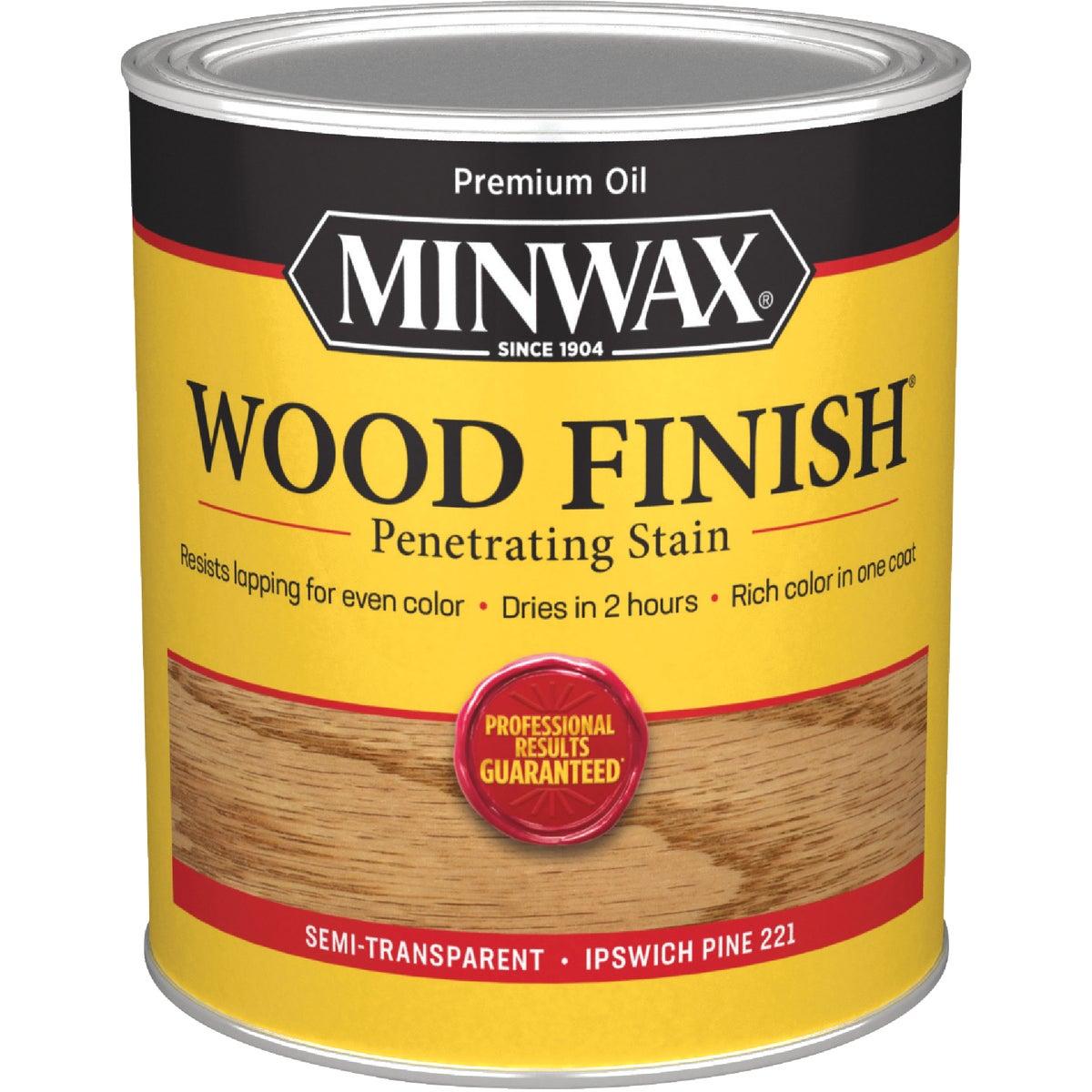 Minwax 70004 1 Quart Wood Finish Interior Wood Stain, Ipswich Pine