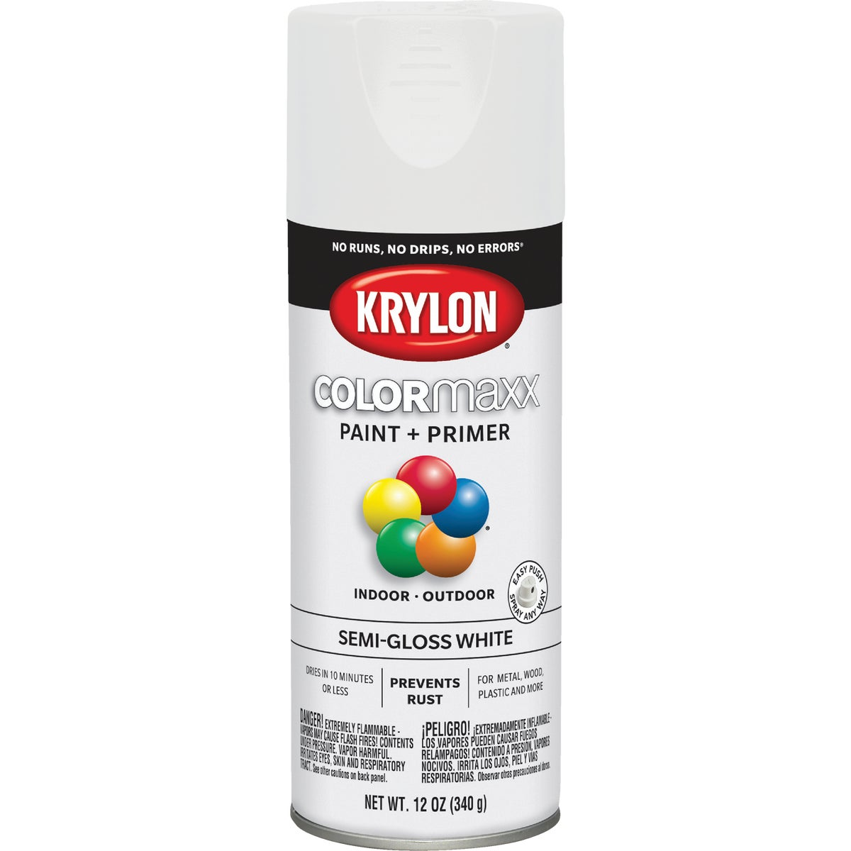 S/G WHITE SPRAY PAINT - 51508 by Krylon/consumer Div
