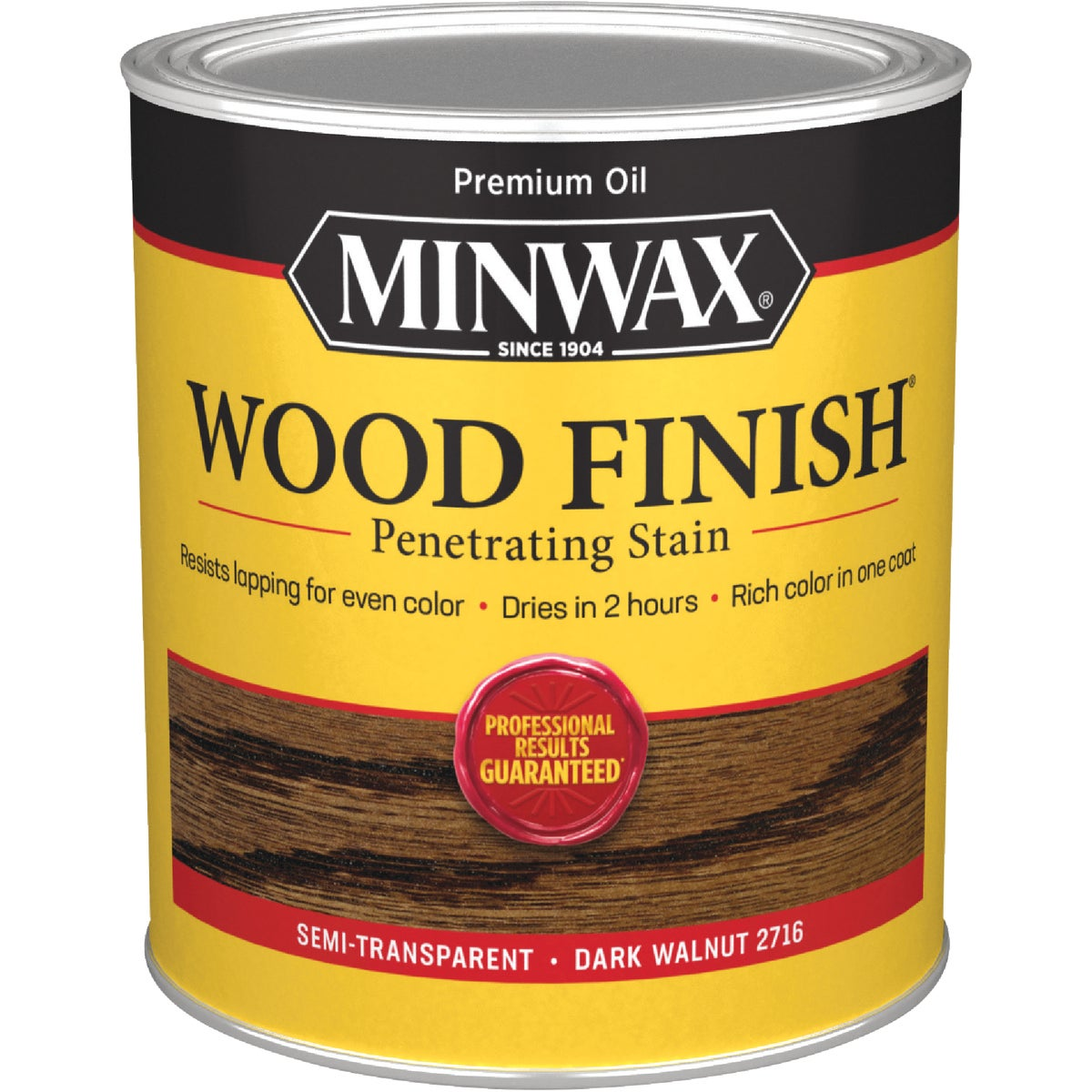 DARK WALNUT WOOD STAIN - 70012 by Minwax Company