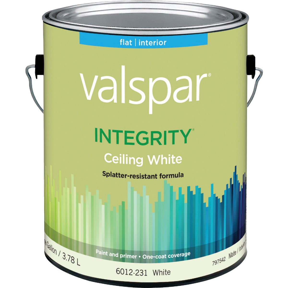 INT WHITE CEILING PAINT - 004.6012231.007 by Valspar Corp