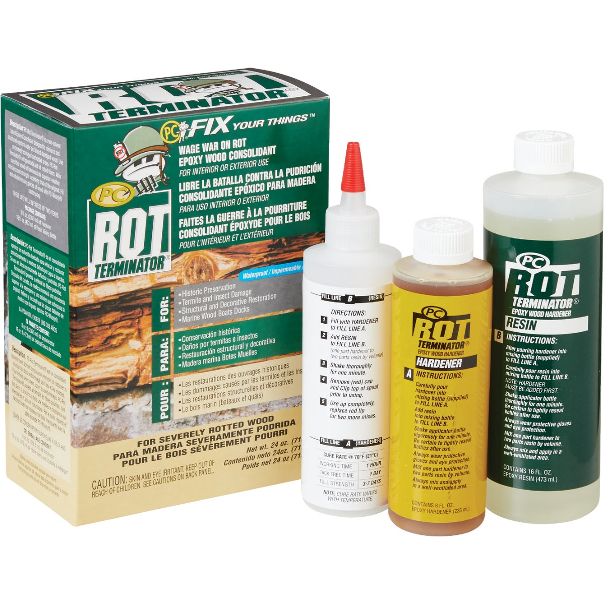 24OZ PC-ROT TERMINATOR - 24061 by Protective Coating