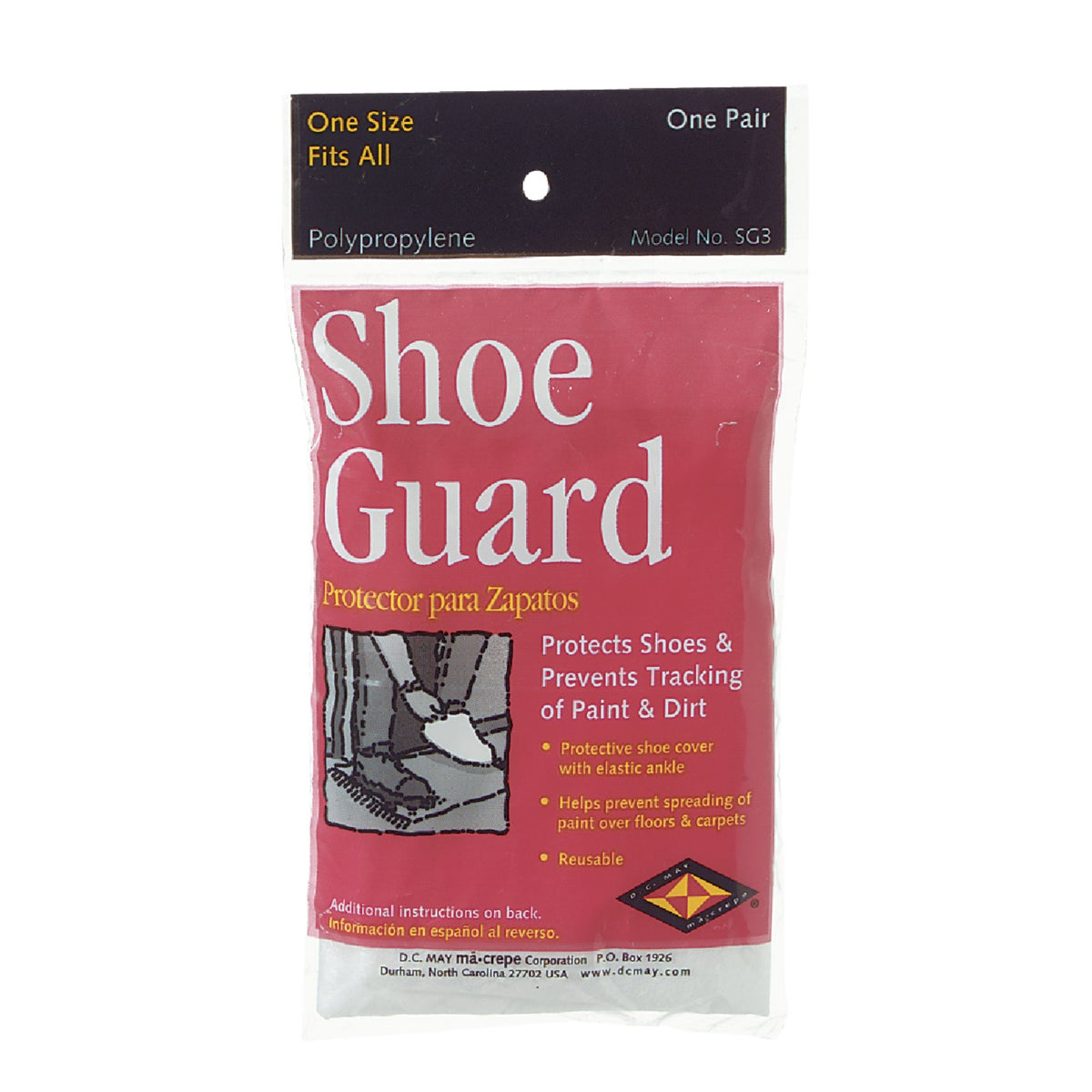 PAIR POLY SHOE GUARDS - 04501 by Trimaco L L C