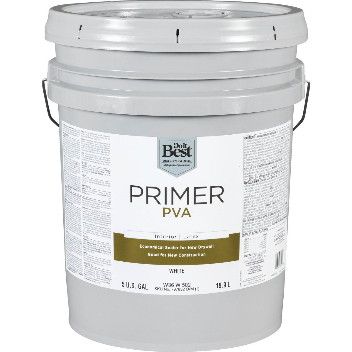 INT 5-G LATEX PVA PRIMER - W36W00502-20 by Do it Best