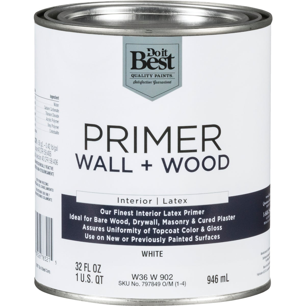 INT LTX WALL/WOOD PRIMER - W36W00902-44 by Do it Best