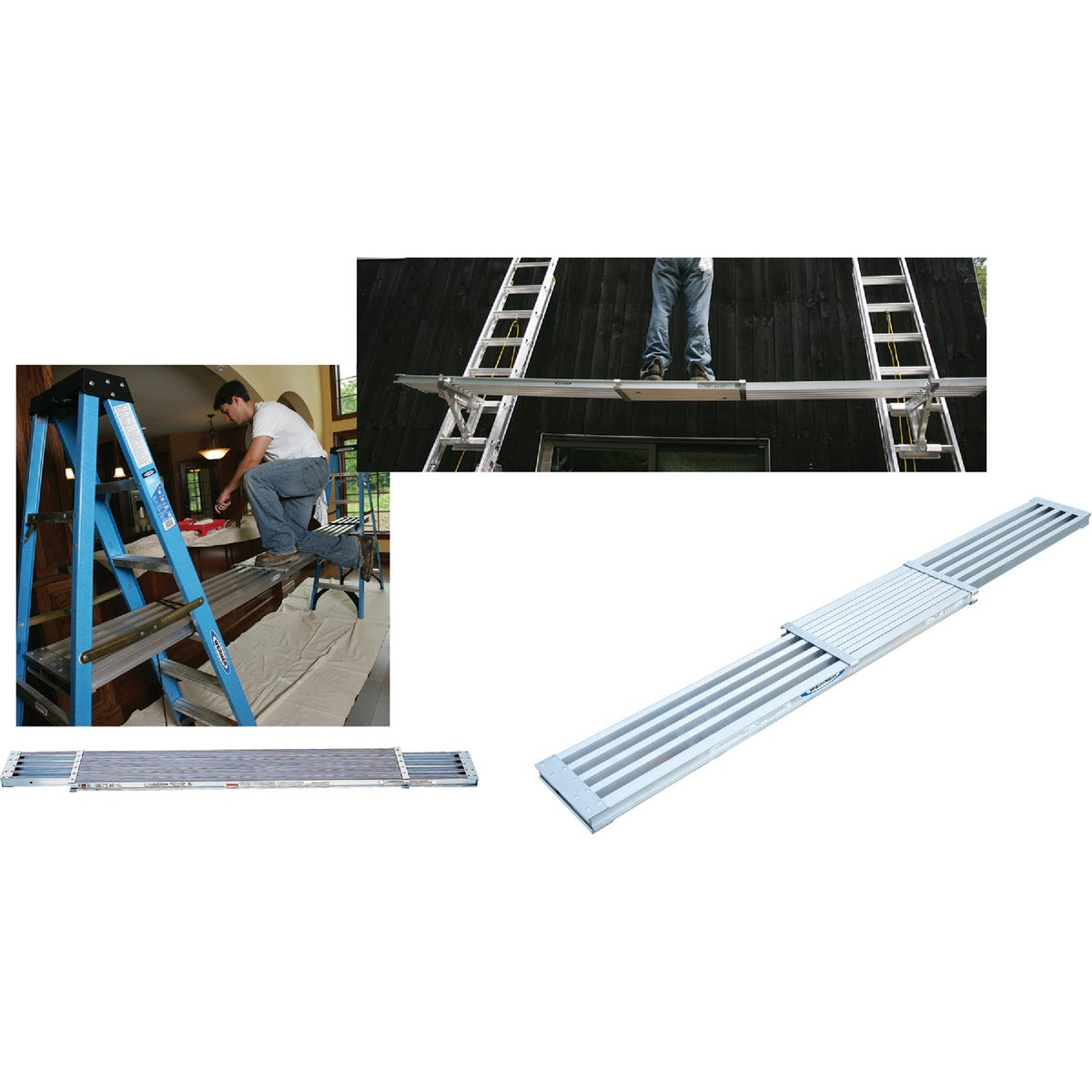T-1 13' EXTENSION PLANK - PA208 by Werner Ladder