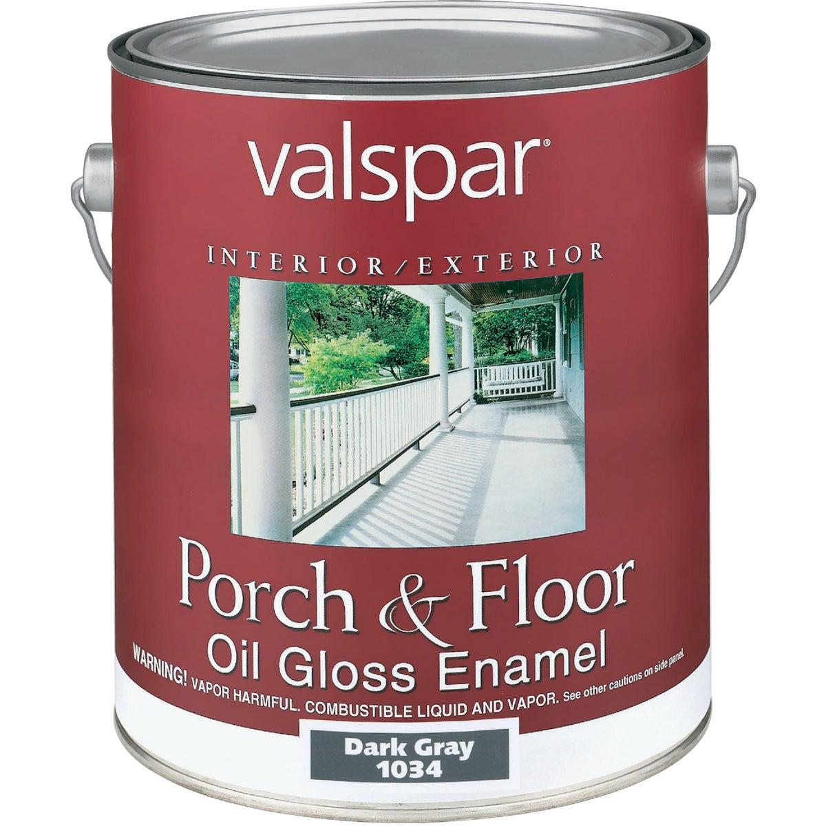 DK GRAY OIL FLOOR ENAMEL - 027.0001034.007 by Valspar Corp