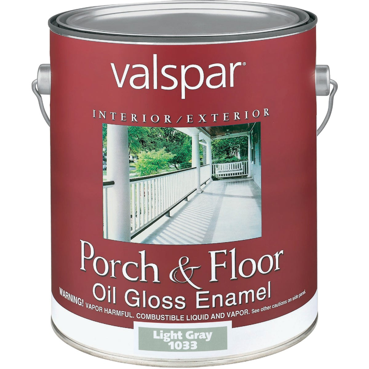 LT GRAY OIL FLOOR ENAMEL - 027.0001033.007 by Valspar Corp