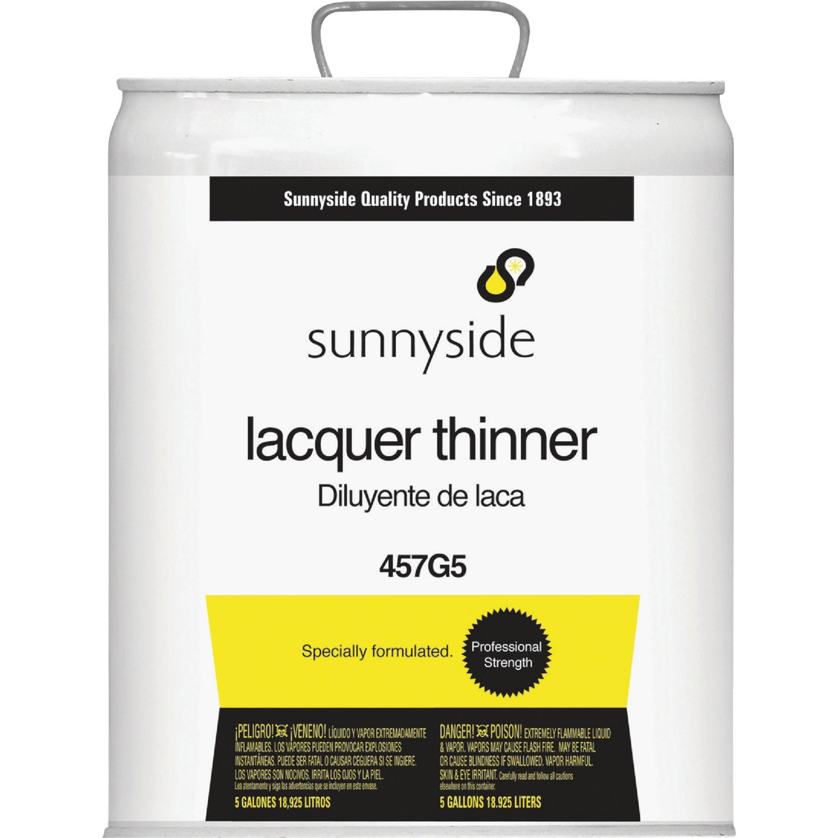 Sunnyside Corp. LACQUER THINNER 457G5
