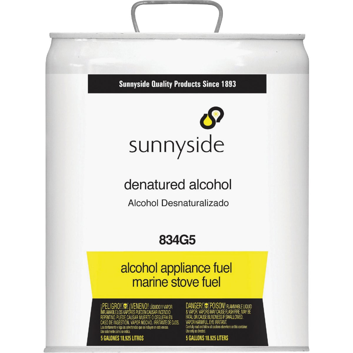 DENATURED ALCOHOL - 834G5 by Sunnyside Corp