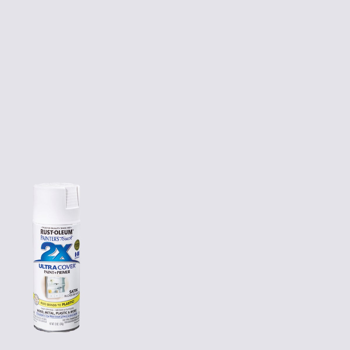 SAT BLSM WHT SPRAY PAINT - 249843 by Rustoleum