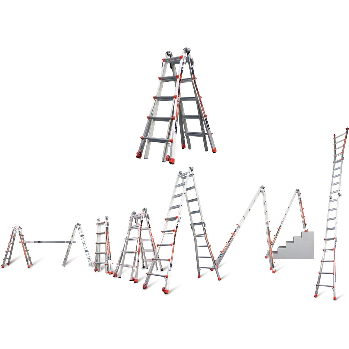 22' TELESCOPING LADDER - 10103LGSW by Wing Enterprises Inc