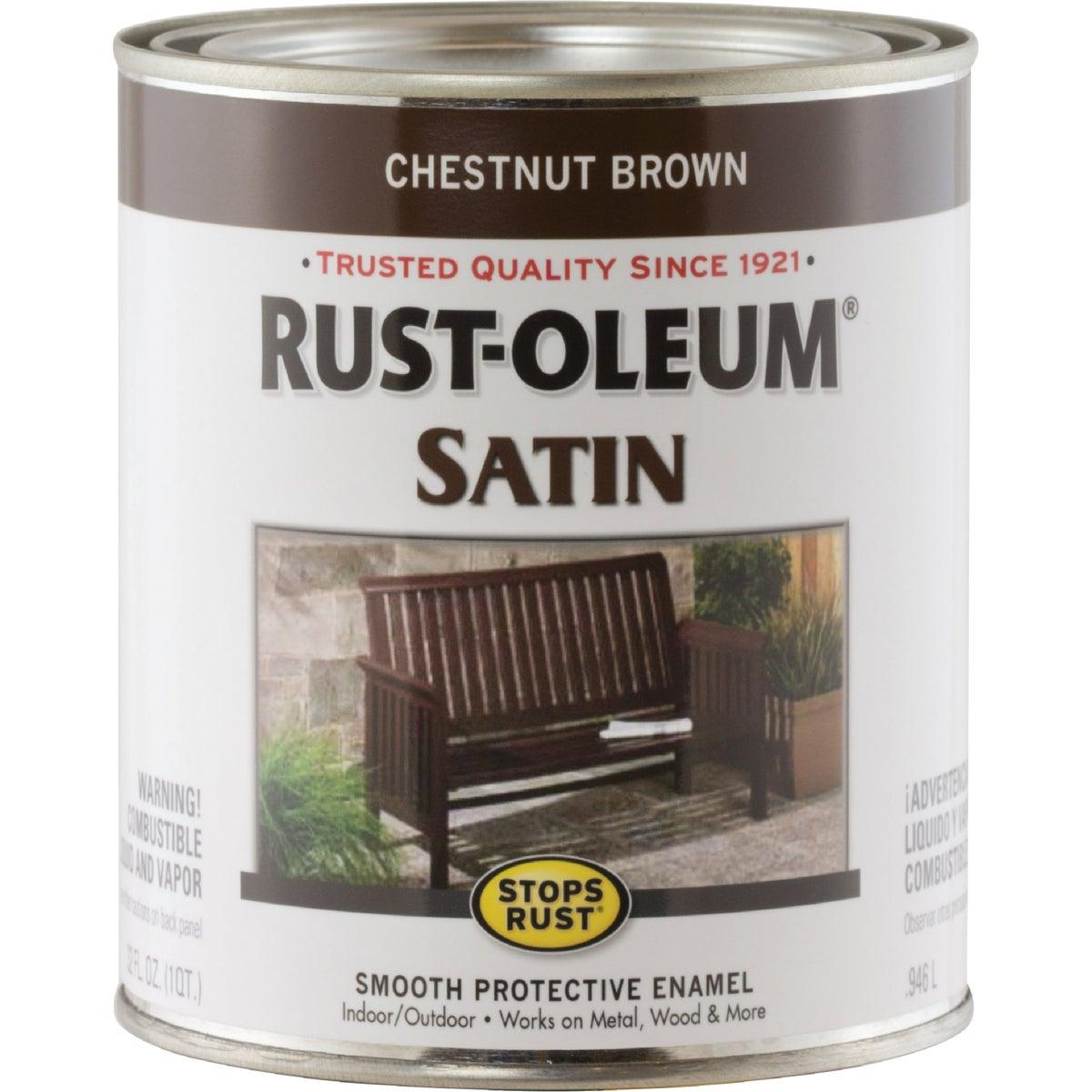 SAT CHESTNT BROWN ENAMEL - 7774502 by Rustoleum