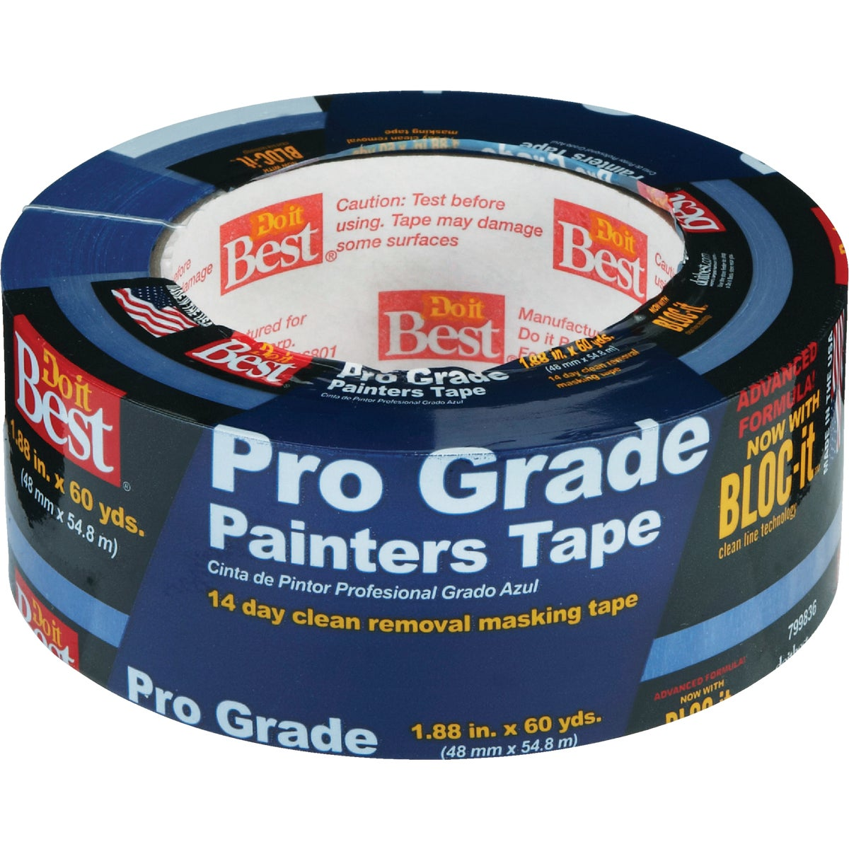 "2"" PRO BLUE MASKING TAPE - 85844 by Intertape Polymer"