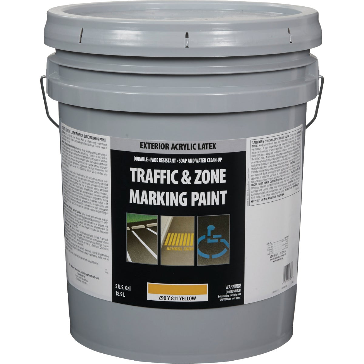 YEL LATEX TRAFFIC PAINT - Z90Y00811-20 by Do it Best