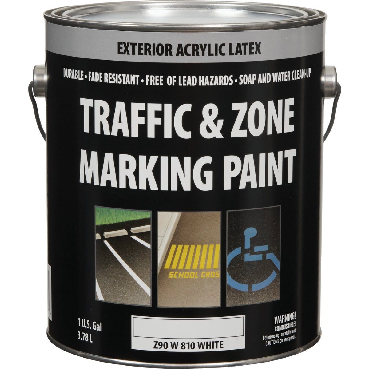 WHT LATEX TRAFFIC PAINT - Z90Y00810-16 by Do it Best