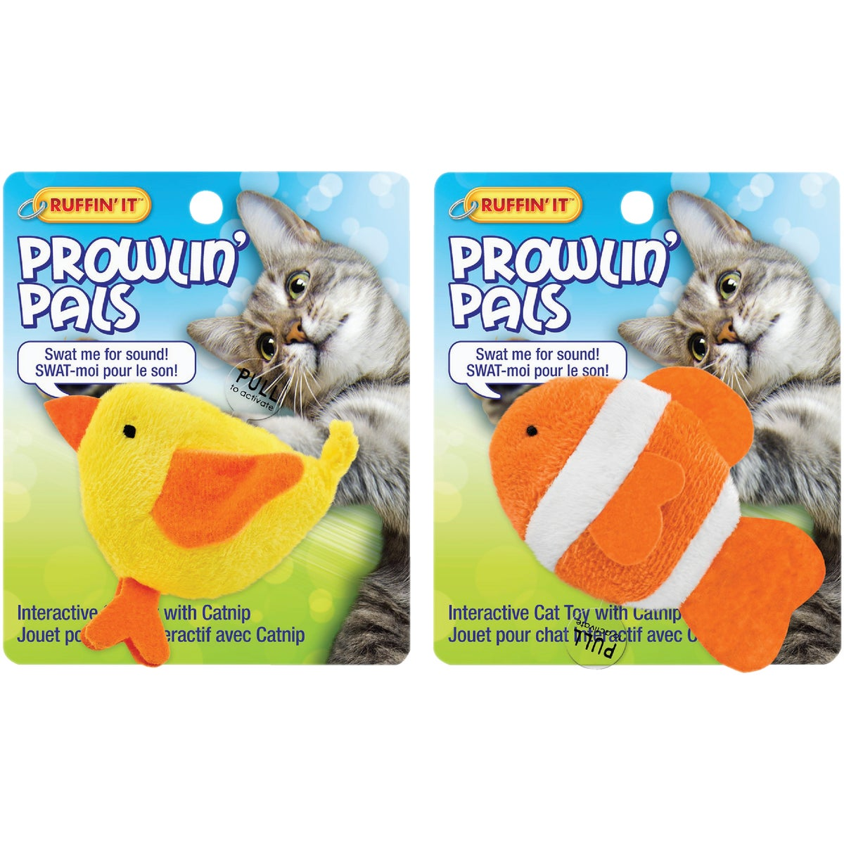 PROWLIN' PALS CAT TOY - 32060 by Westminster Pet