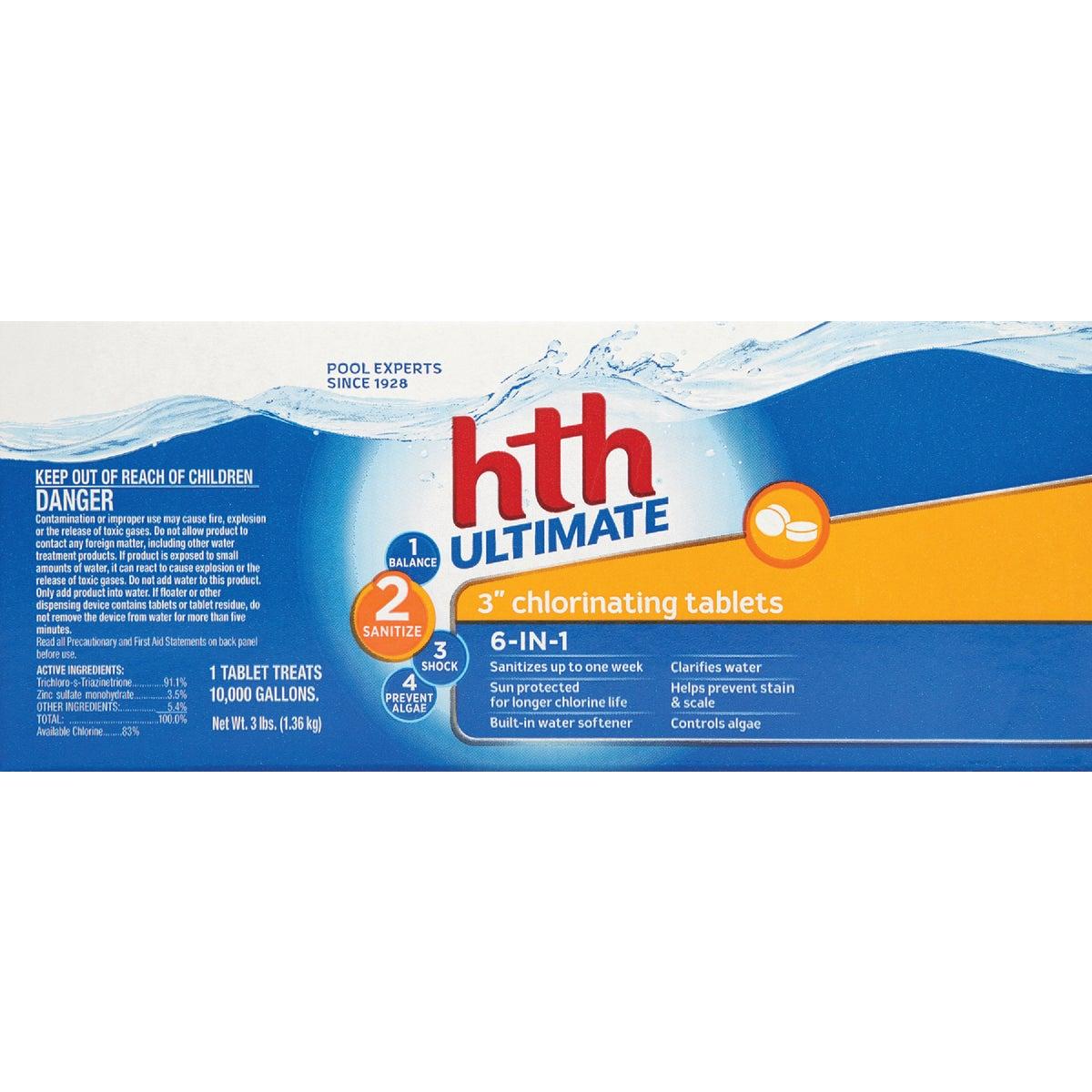 "HTH 3"" 3.5LB ULTRA TAB - 41244 by Lonza"