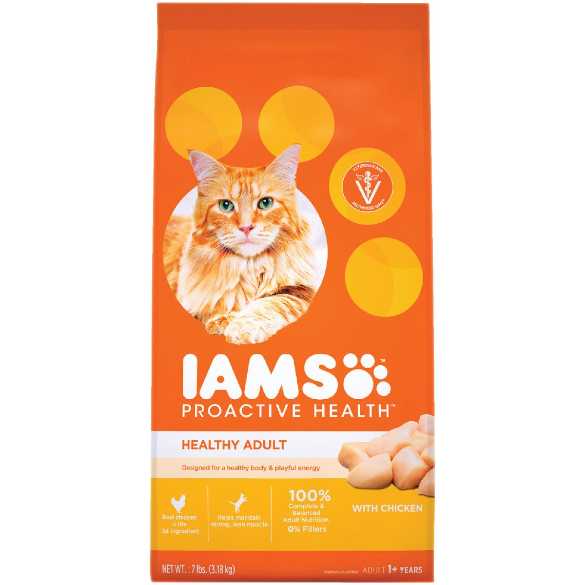 5.7LB ORGL CHKN CAT FOOD - 12499 by Wolverton Iams