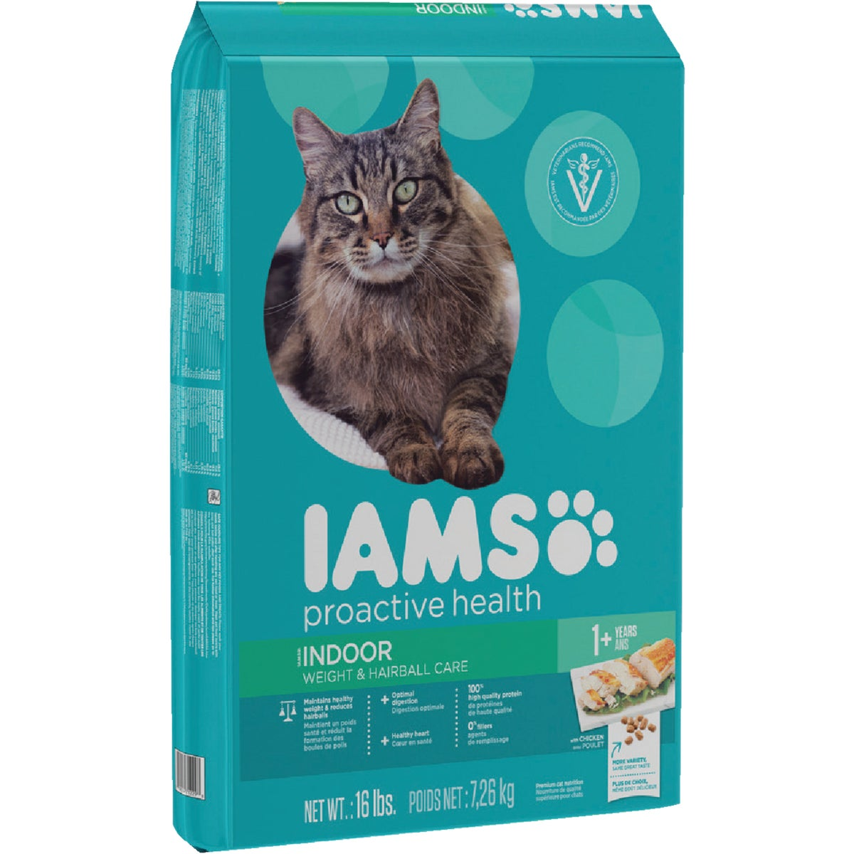 16LB WCTRL HAIRBALL FOOD - 12147 by Wolverton Iams