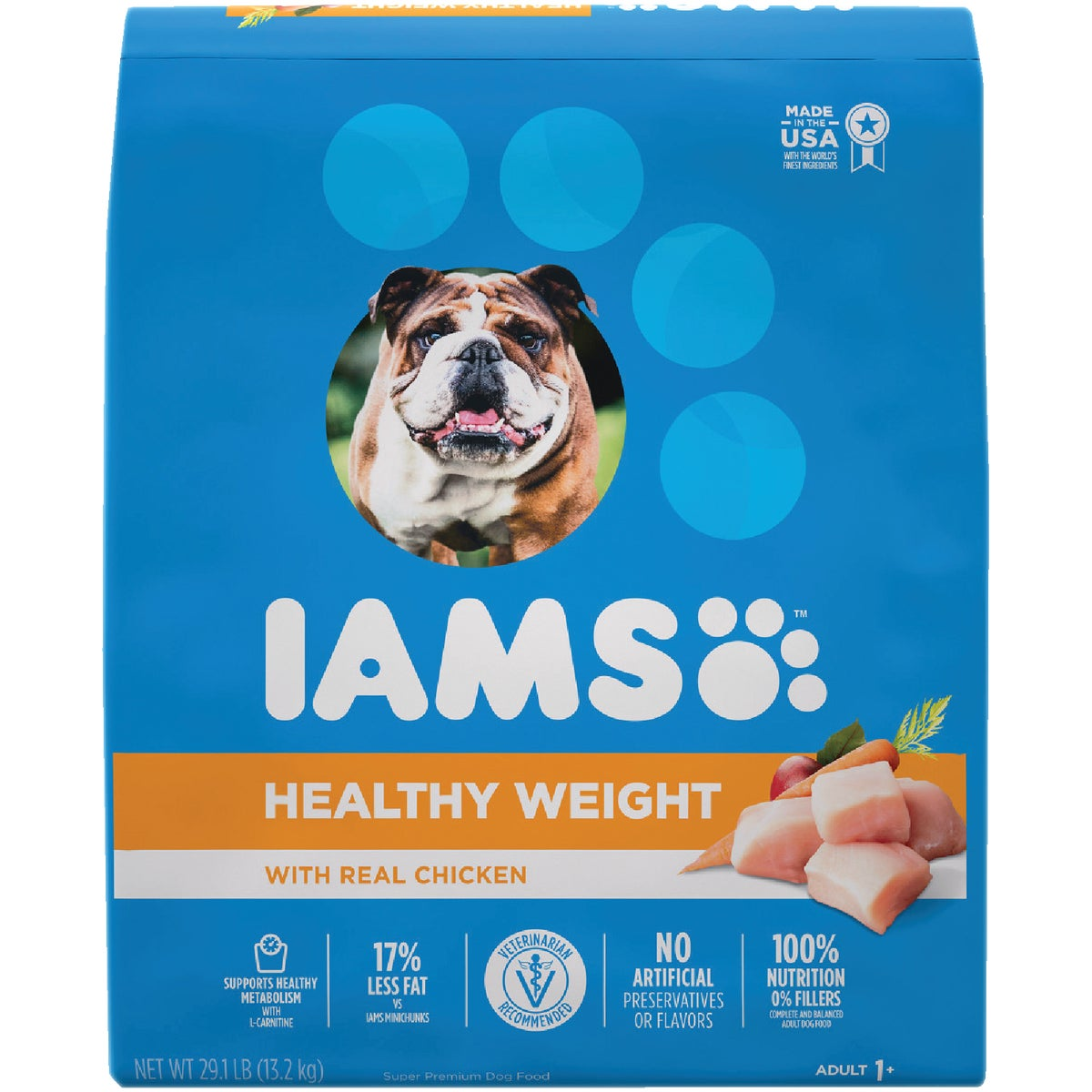 29.1LB WCTRL DOG FOOD - 00677 by Wolverton Iams